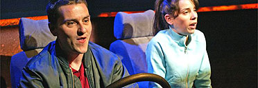 Lee Ross and Sally Hawkins in Country Music, Actors Touring Company & Royal Court, 2004. Photo: Tristram Kenton. Taken from Guardian website http://www.guardian.co.uk/arts/critic/review/0,1169,1249871,00.html