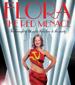 Poster for Flora the Red Menace (Dundee Rep, October 2003) dir. James Brining