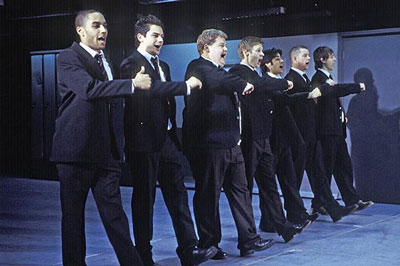 The History Boys by Alan Bennett, National Theatre, 2004, photographer: Ivan Kyncl