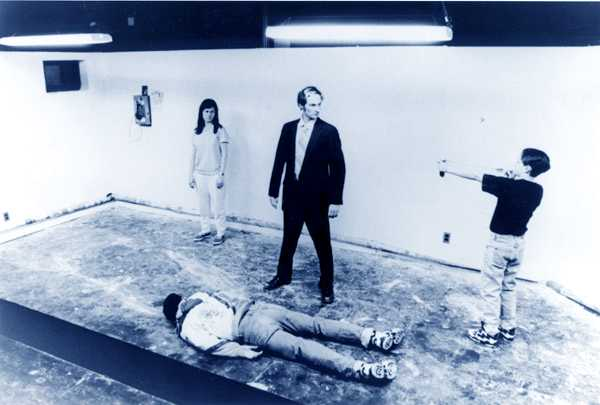 House by Richard Maxwell, NYC Players, 1998 (photo by David Quantic)