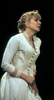 Natasha Richardson as Ellida in The Lady from the Sea (Almeida Theatre, 2003), translated by Pam Gems, photo: Catherine Ashmore
