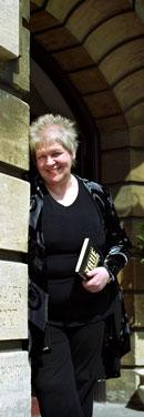 Liz Lochhead, image taken from University of Wales, Newport, website