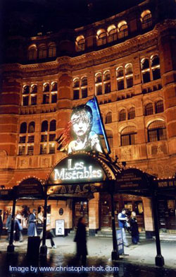 Palace Theatre, London; image reproduced by kind permission of the photographer, Christopher Holt, www.christopherholt.com