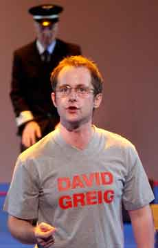 Billy Boyd as David Greig in David Greig's San Diego (Royal Lyceum, Edinburgh, 2003)