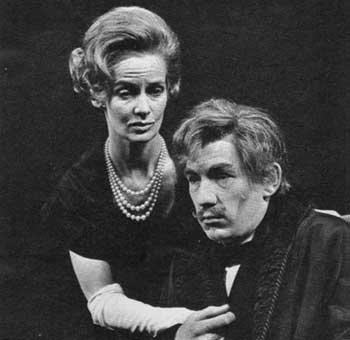 Ian McKellen and Ann Firbank in Their Very Own and Golden City (Royal Court, May 1966)
